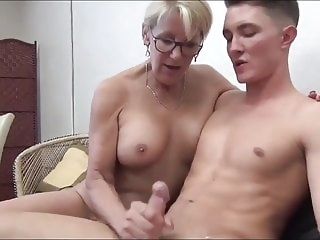 blowjob HQ cumshot video milf