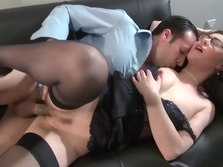 big tits HQ mature video anal