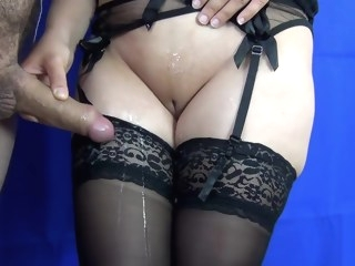 stockings HQ straight video milf