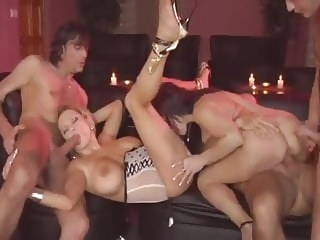 group sex HQ milf video party